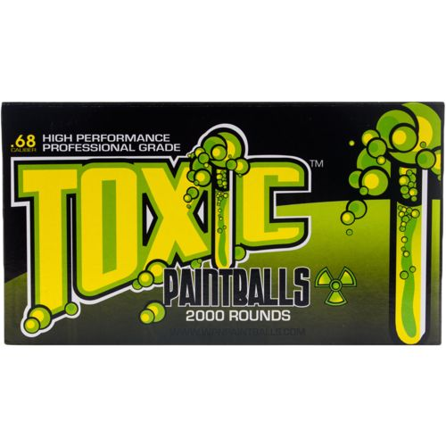 D3FY WPN Toxic Professional-Grade Paintballs 2,000-Pack