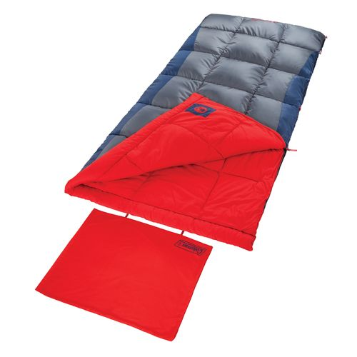 Coleman™ Heaton Peak™ 50°F Big & Tall Sleeping Bag - view number 4