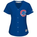 Majestic Women's Chicago Cubs Kris Bryant #17 Cool Base Replica Jersey - view number 2