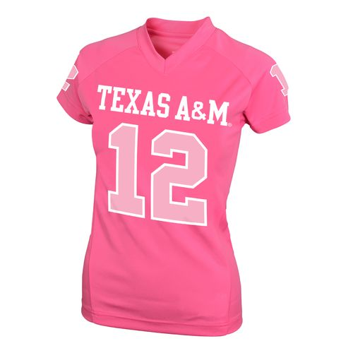 NCAA Kids' Texas A&M University #12 Perf Player T-shirt - view number 1