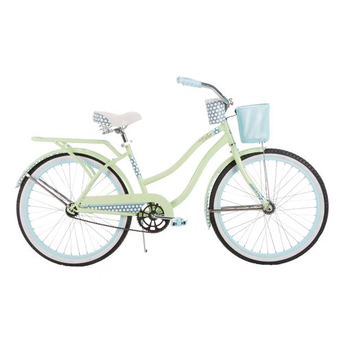 "Huffy Girls' Deluxe 24"" Cruiser Bicycle"