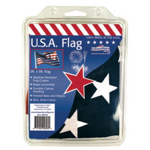 "Display product reviews for Independence Flag 3' x 5' 60"" United States Flag"