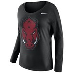 Nike Women's University of Arkansas Tailgate T-shirt - view number 1