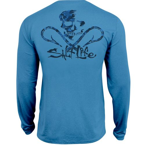 Salt Life™ Men's Get Hooked SLX Long Sleeve T-Shirt
