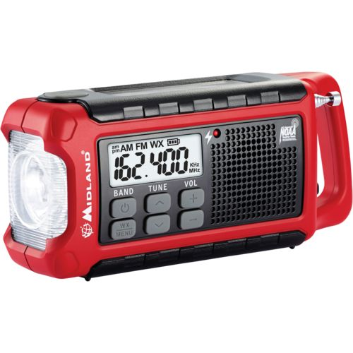 Display product reviews for Midland™ Compact Emergency Crank Radio