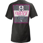 Three Squared Juniors' University of Central Florida Knotty Tide T-shirt