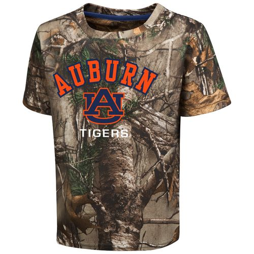 Colosseum Athletics™ Toddler Boys' Auburn University Blacktail Camo T-shirt