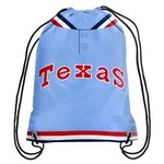Forever Collectibles™ Texas Rangers Retro Drawstring Backpack