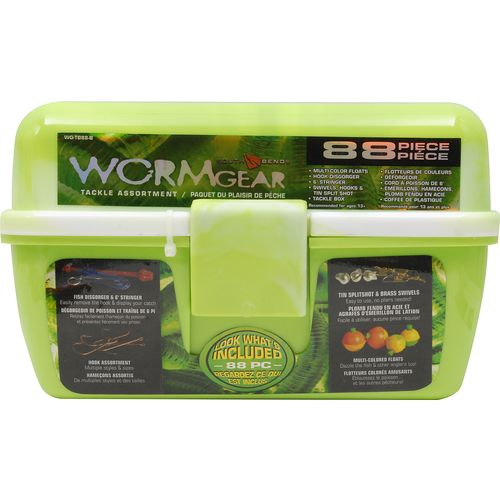 Display product reviews for South Bend Wormgear 88-Piece Tackle Box
