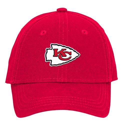 NFL Toddlers' Kansas City Chiefs Lil' Constant Basic Structure Adjustable Cap