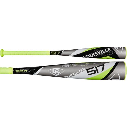 Louisville Slugger Youth Omaha 517 2017 Big Barrel Alloy Baseball Bat -10