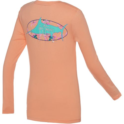 Guy Harvey Women's Full Bloom Long Sleeve T-shirt