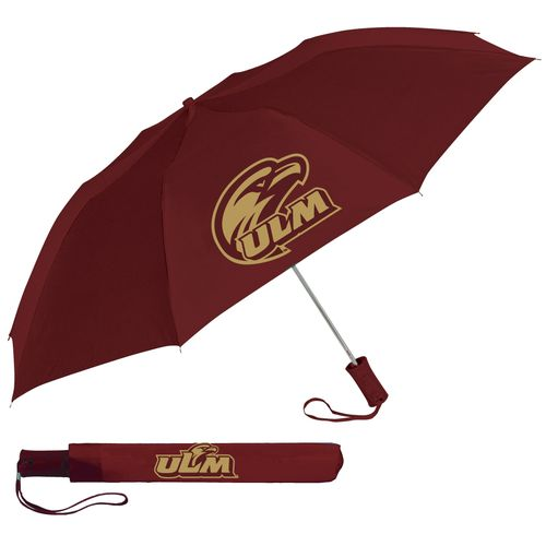 "Storm Duds University of Louisiana at Monroe 42"" Automatic Folding Umbrella"