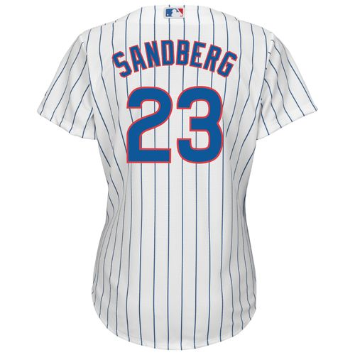 Majestic Women's Chicago Cubs Ryne Sandberg #23 Cool Base Replica Jersey - view number 1
