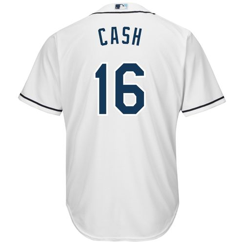 Majestic Men's Tampa Bay Rays Kevin Cash #16 Cool Base Replica Jersey