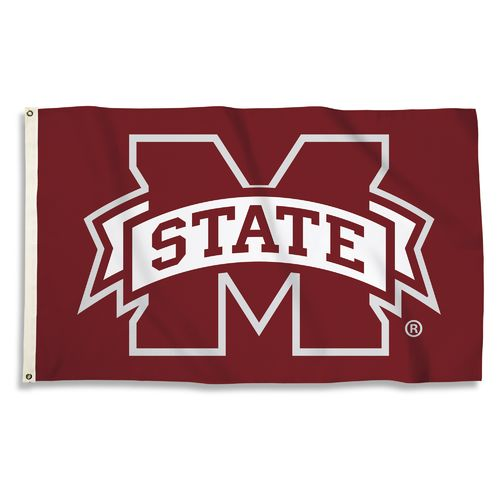BSI Mississippi State University 3'H x 5'W Flag