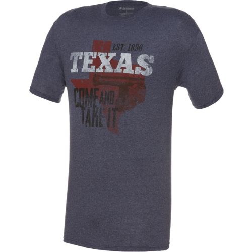 Academy Sports + Outdoors Men's Texas State Love T-shirt - view number 1