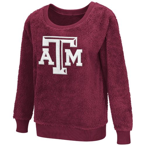 G-III for Her Women's Texas A&M University Sherpa Guide Pullover