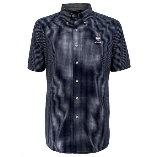 Antigua Men's University of Connecticut League Short Sleeve