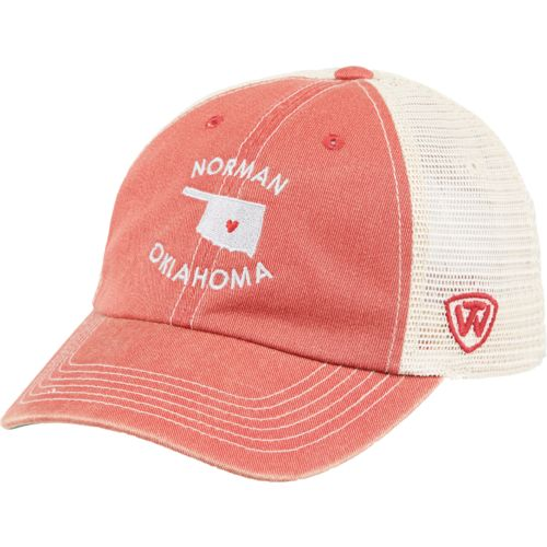 Top of the World Women's University of Oklahoma Roots Cap
