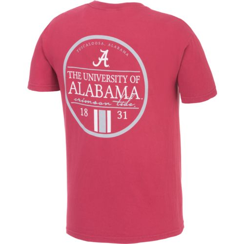 Image One Men's University of Alabama Simple Circle Lines T-shirt
