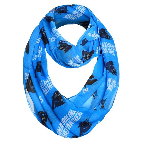 Display product reviews for Forever Collectibles Women's Carolina Panthers Infinity Scarf