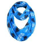 Forever Collectibles Women's Carolina Panthers Infinity Scarf