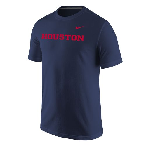Nike™ Men's University of Houston Cotton Short Sleeve T-shirt