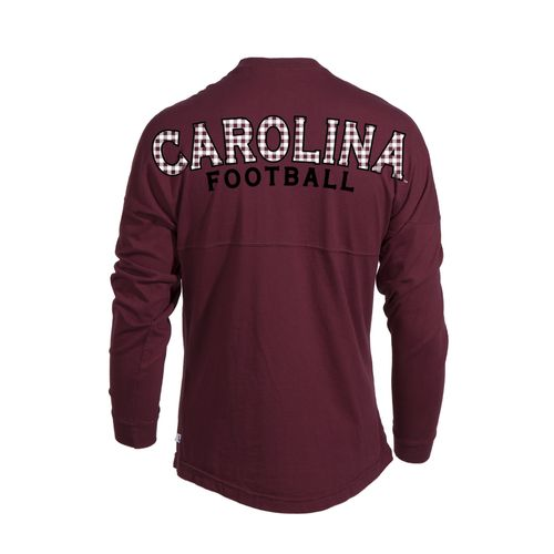Venley Women's University of South Carolina Jade Long Sleeve Football T-shirt