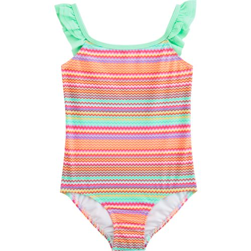 O'Rageous Kids Girls' Fizz and Pop 1-Piece Swimsuit