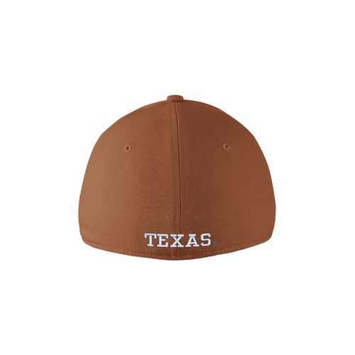 Nike Men's University of Texas Dri-FIT Wool Swoosh Flex Cap - view number 2
