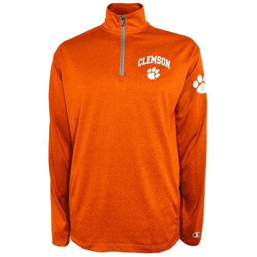 Champion™ Men's Clemson University Victory 1/4 Zip Pullover