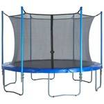 Upper Bounce® 6-Pole Trampoline Enclosure Set for 8' Round Frames with 3 or 6 W-Shape Legs - view number 6