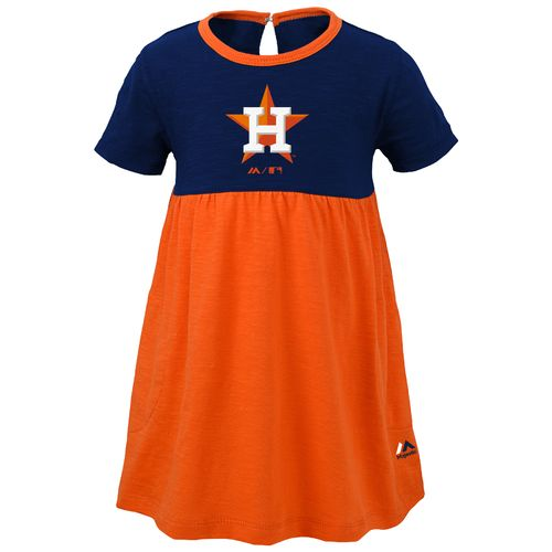 MLB Toddlers' Houston Astros 7th Inning Twirl Dress