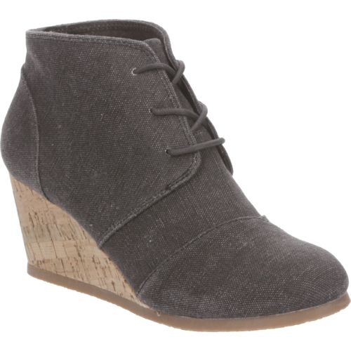 Sugar Women's Maybee Lace-Up Wedge Booties - view number 2