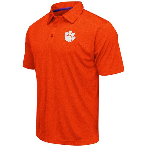 Colosseum Athletics™ Men's Clemson University Academy Axis Polo Shirt - view number 1