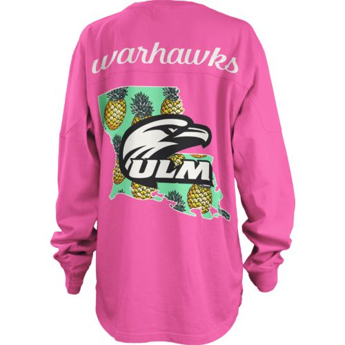 Three Squared Juniors' University of Louisiana at Monroe Aloha Big Shirt
