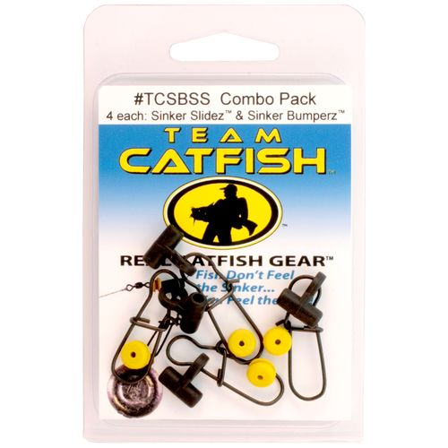 Team Catfish Sinker Slides and Sinker Bumperz Combo Pack