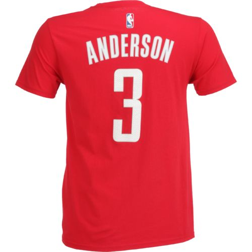 adidas™ Men's Houston Rockets Ryan Anderson #3 Road Replica Name and Number T-shirt