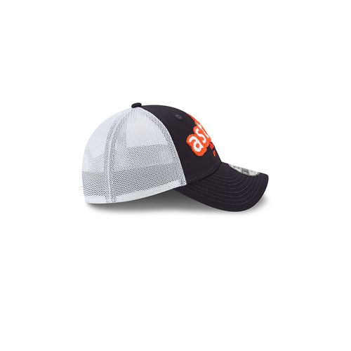 New Era Toddler Houston Astros 9TWENTY® Pop Stitcher Trucker Cap - view number 5