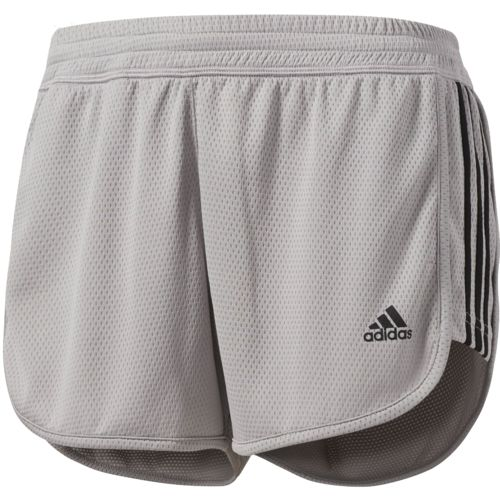 adidas Women's Designed 2 Move 3-Stripes Knit Short
