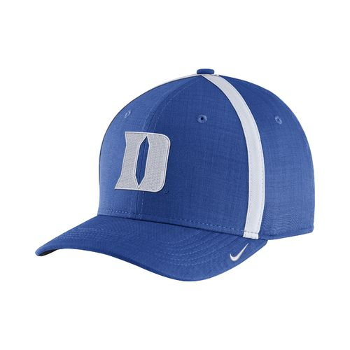 Nike™ Men's Duke University AeroBill Sideline Coaches Cap