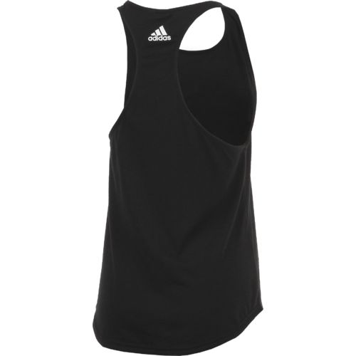 adidas Women's Essentials Linear Logo Loose Tank Top - view number 2