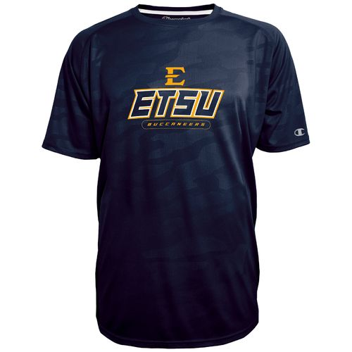 Champion™ Men's East Tennessee State University Impact Embossed T-shirt