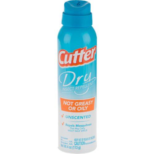 Cutter Dry 4 oz. Insect Repellent