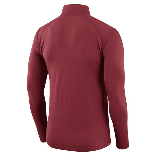 Nike™ Men's University of Oklahoma Element 1/4 Zip Pullover - view number 2