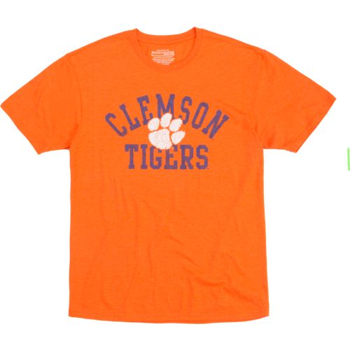 Colosseum Athletics Men's Clemson University Vintage T-shirt - view number 4