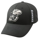 Top of the World Men's University of Kansas Booster Plus Tonal Cap - view number 1