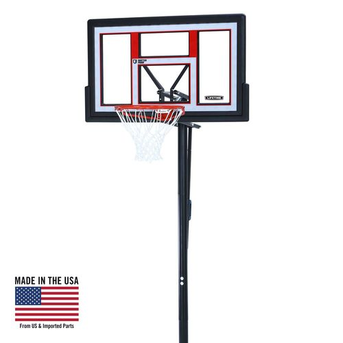 "Display product reviews for Lifetime 50"" Makrolon® Portable Basketball Hoop"