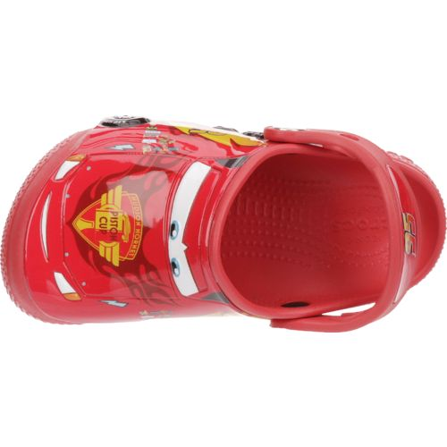 Crocs™ Boys' FunLab Cars K-Flame Clogs - view number 4